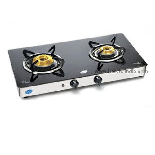 Glen Gas Stove Glass Top 2 Burner GL-1021 GT Forged Burner HF AI
