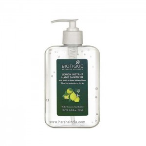 Biotique Hand Sanitizer 250ml Lemon Instant
