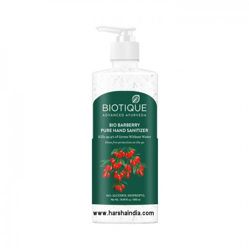 Biotique Bio Hand Sanitizer 500ml Barberry Pure
