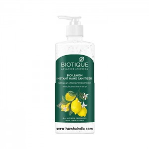 Biotique Bio Hand Sanitizer 500ml Lemon Instant