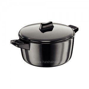 Hawkins Futura Hard Anodised Cook N Serve Bowl L64 4L