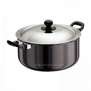Hawkins Futura Hard Anodised Cook N Serve Stewpot 5L L36 With Lid