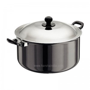 Hawkins Futura Hard Anodised Cook N Serve Stewpot 8.5L L39 With Lid