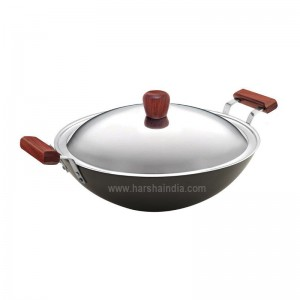 Hawkins Futura Hard Anodised Deep Fry Pan 5L L47 With Lid