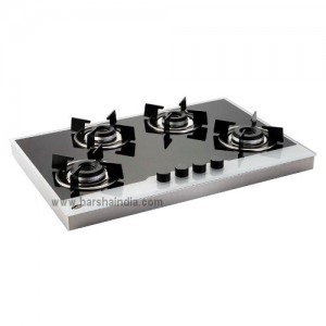 Glen Built In Hob GL-1074 Forged Burner AI Black & White