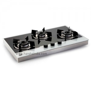 Glen Built In Hob GL-1073 Forged Burner AI Black & White