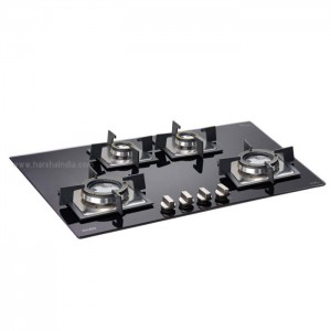 Glen Built In Hob GL 1074 SQ Double Brass TR