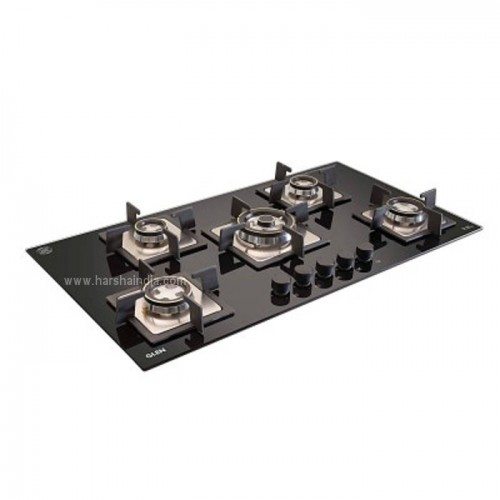 Glen Built In Hob GL-1095 SQ Double Brass TR
