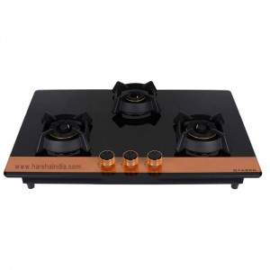 Faber Built In Hob 3 Burner Utopia HT 783 BR CI