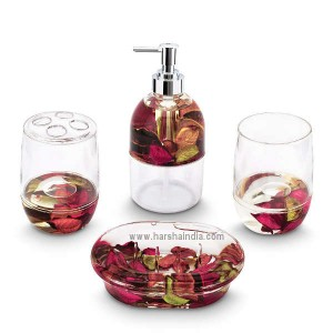 Freelance Eden Bathroom Set  283902R Petal Colored