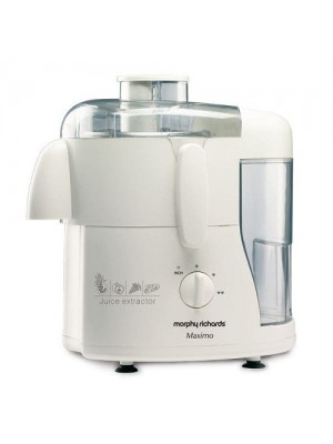 Morphy Richards Juice Extractor Maximo Essence White 450W