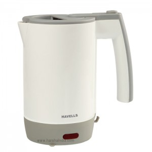 Havells Kettle 1000W Travel Lite 0.5 Ltr Grey