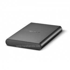 Sony External Hard Disk Drive 1TB HD-B1/BC2 Black