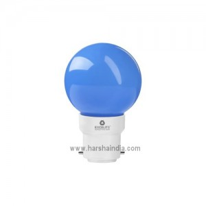 Excelite LED Lamp 0.5W B22 Blue