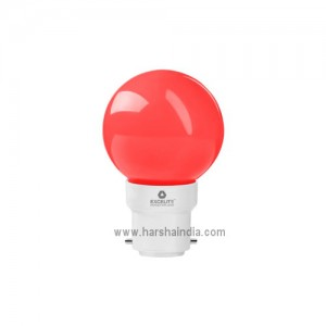 Excelite LED Lamp 0.5W B22 Red
