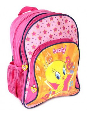 Tweety School Bag 16 Pink AGKRBG1046691