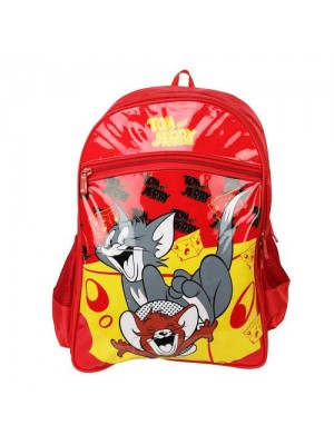 Tom & Jerry School Bag 18 Red AGKRBG1047229