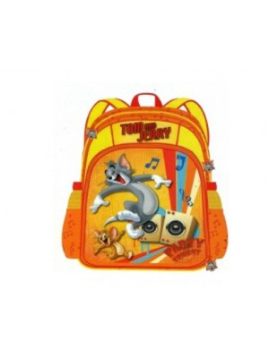 Tom & Jerry School Bag 18 Orange AGKRBG1047222