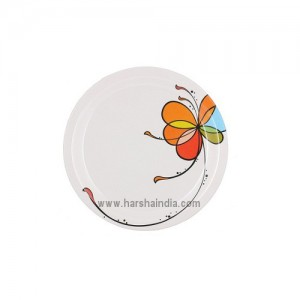 Borosil Melamine Ware Full Plate Milano Vibgyor Single