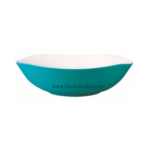 Borosil Melamine Ware Serving Bowl Wave New Blue