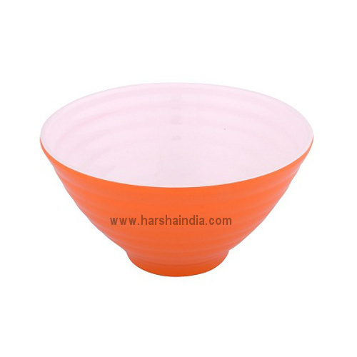 Borosil Melamine Ware Serving Bowl Bonny Orange
