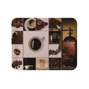 Borosil Melamine Ware Elissa Mini Tray 21 x 14CM Coffee Time