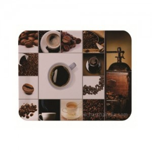 Borosil Melamine Ware Elissa Small Tray 23 x 17CM Coffee Time