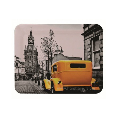 Borosil Melamine Ware Elissa Small Tray 23 x 17CM London Tower