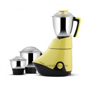 Butterfly Mixer Grinder Splendid Lemon Yellow 3Jar