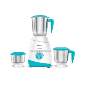 Havells Mixer Grinder Aspro White-Light Blue MG 500W