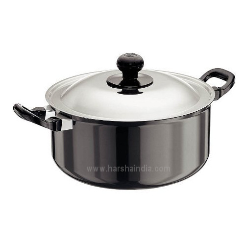 Hawkins Non Stick Stew Pot 5L Q36 With Lid