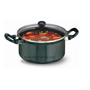 Hawkins Non Stick Cook N Serve Stew Pot 3L Q34 With Glass Lid