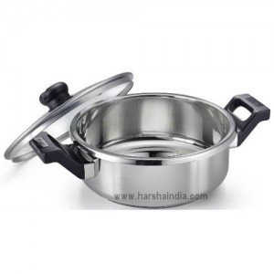 Prestige Clip-On SS Cookware With Glass Lid 3L 36325