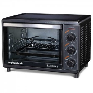 Morphy Richards Oven Toaster Griller Besta Black 18L