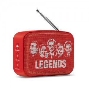 Saregama Carvaan Digital Music Player Mini 2.0 Sunset Red