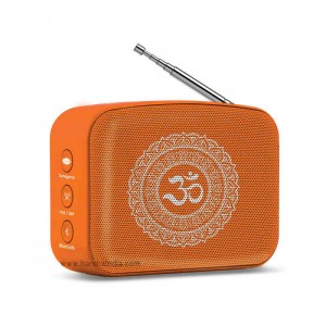 Saregama Carvaan Digital Music Player Mini 2.0 Devotional Orange