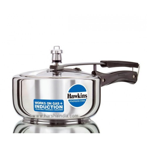 Hawkins Pressure Cooker Stainless Steel 3L B60 Without Separator