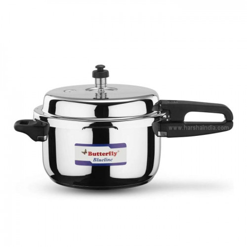 Butterfly Pressure Cooker Stainless Steel Blueline 5L