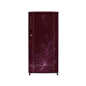 Haier Refrigerator Direct Cool 190 SD HRD-1903BRO Red Ornate