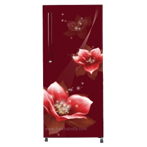 Haier Refrigerator Direct Cool 195 SD HRD-1954CRM Red Magnolia