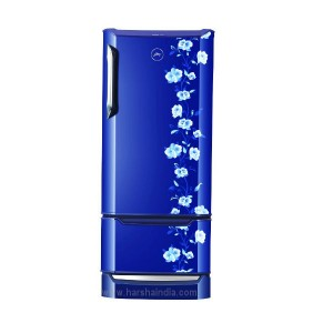Godrej Refrigerator Direct Cool 225 EDGE DUO 225 PD INV 4.2 Neo Orchid Blue