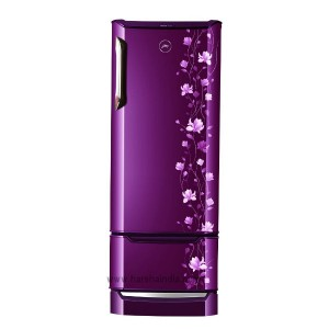 Godrej Refrigerator Direct Cool 255 EDGE DUO 255 PD INV 4.2 Zinnia Wine