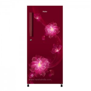 Haier Refrigerator Direct Cool 195 SD HRD-1955CRB-E Red Blossom