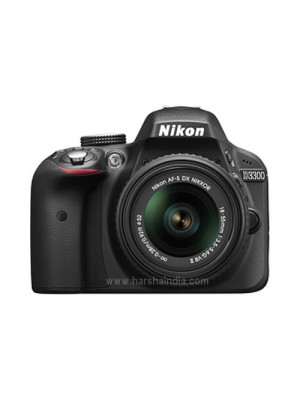Nikon Digital SLR Camera D3300 (BK) 18-55+70-300 Kit