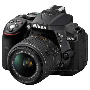 Nikon Digital SLR Camera D5300 18-55 VR Kit BK