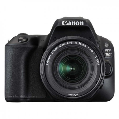 Canon Digital SLR Camera EOS 200D EF-S 18-55MM IS STM
