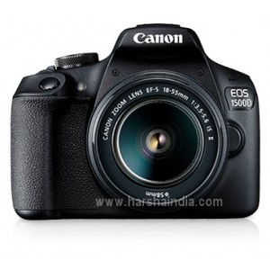 Canon Digital SLR Camera EOS 1500D 18-55MM ISII