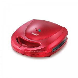 Prestige Sandwich Toaster Fixed Plate Red PSMFB Cute 41493