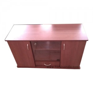 New Wood TV Trolly 4F Base Red