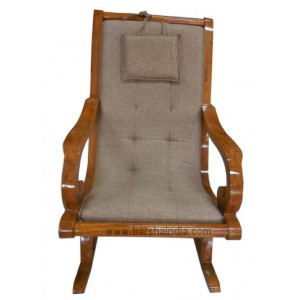 GW Teakwood Rocking Chair With Cushion